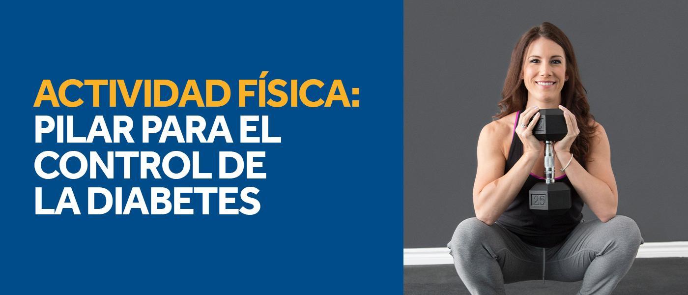 Actividad física: pilar para el control de la diabetes