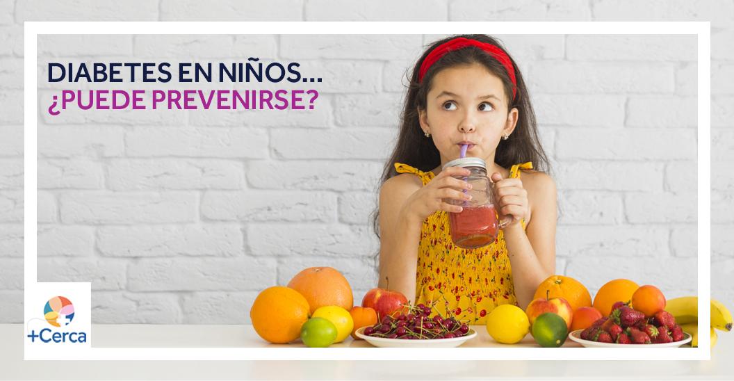 Diabetes en niños… ¿Puede prevenirse?